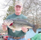 Ross Alcorn with 2004 ShareLunker caught March 2, 2004