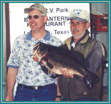 a 14.17 lb bass, which started off the  the Lake Fork 2002-2003 ShareLunker Program